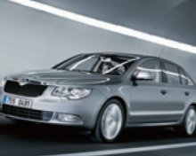 Limousine Service: Škoda Superb pro 3 pasažéry
