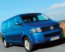 Limousine Service : MINIBUS VW Caravelle – 8 pasažérů / PRAHA